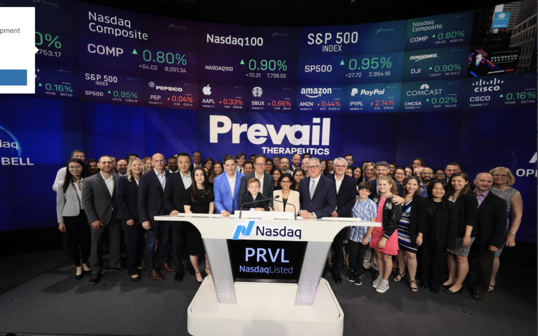Prevail Therapeutics Announces Pricing of Initial Public Offering
